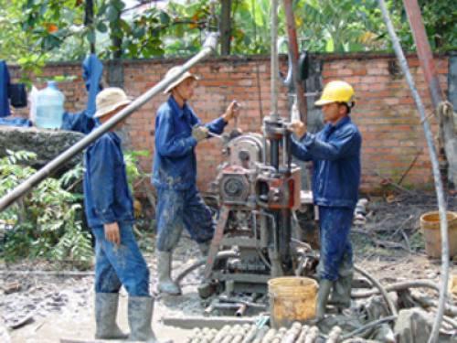 Dịch vụ khoan giếng nước tại TPHCM