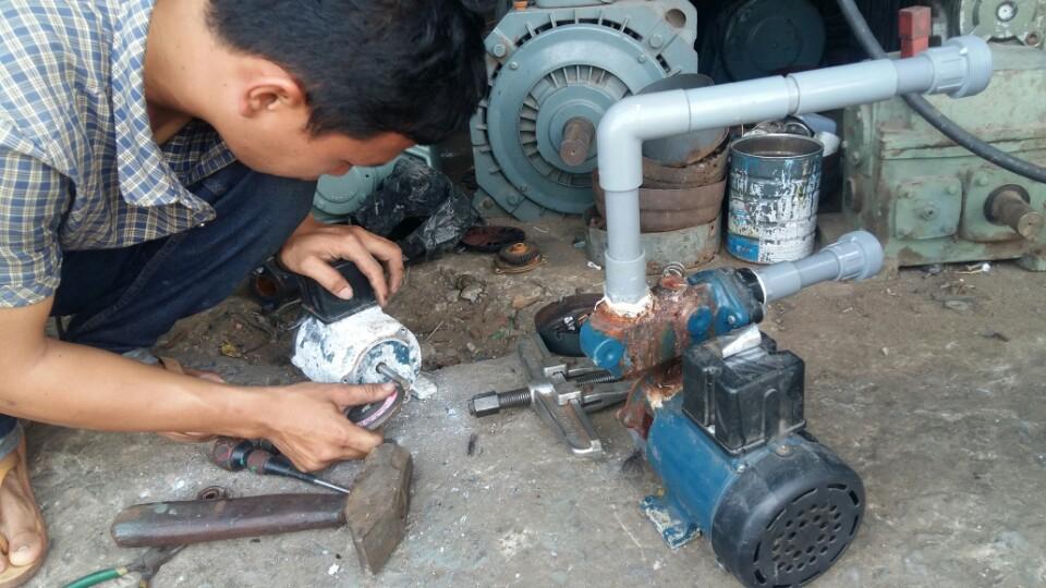 Sửa chữa máy bơm nước tại quận thủ đức