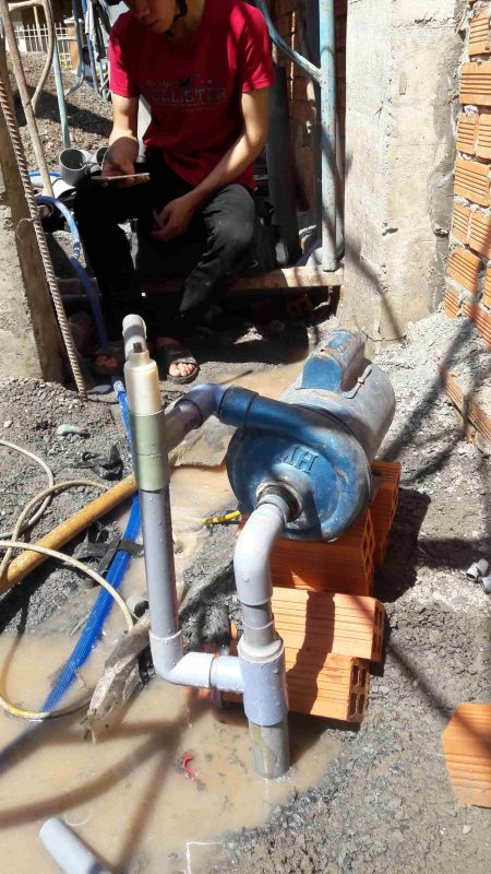 Thợ sửa giếng khoan tại quận 3 TP HCM