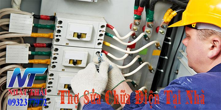 Thợ sửa chữa điện tại nhà chuyên nghiệp